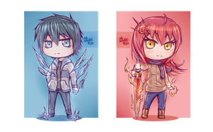 Chibi: Frost and Flames by Yuseiran