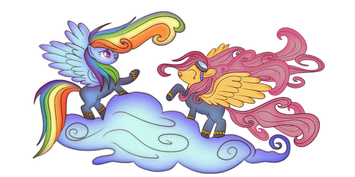 Scootaloo becomes a member of the Wonderbolts by macalaniaa