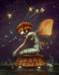 ugly butterfly by navate