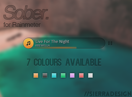 Sober Music Player by SierraDesign