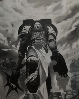 Imperial Fists Chaplain Kage (redux) by brother-melice