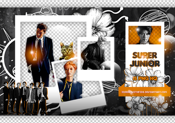 Pack Png 410 | Super Junior | #2 by IDreamWithFire