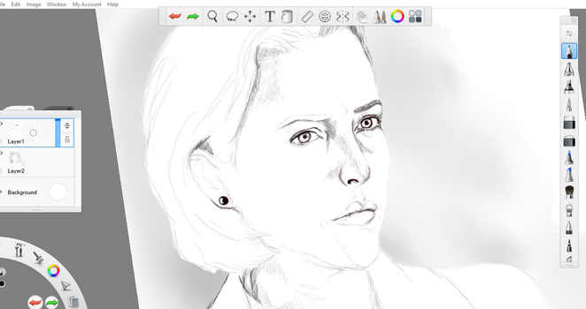 Done some sketching... Been a long time !  by MJ-Scully