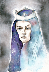 Our Lady of the Heavens by therogueone