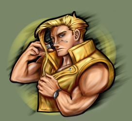 Commission - Street Fighter - Charlie by Ar-Khey