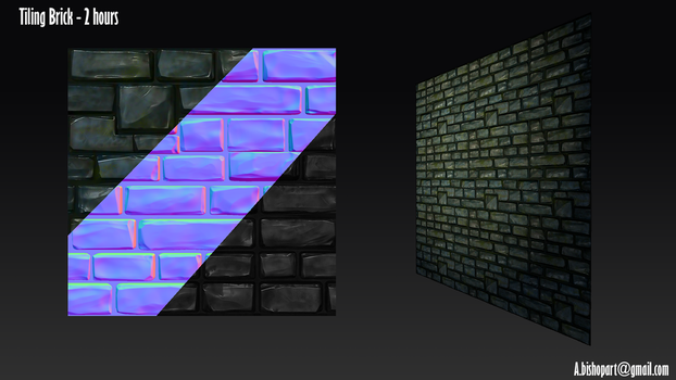 Tiling Castle Brick by StormAndy