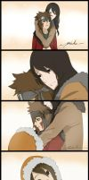 Inuzuka family by LenneWolf