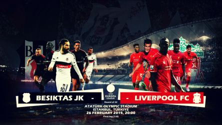 UEL Besiktas JK Liverpool FC Wallpaper by eaglelegend