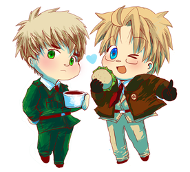 APH: England + America by HoneyHamster