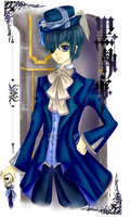 Ciel: Head of the Phantomhives by paper-and-stars