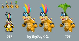 Iggy Koopa's old hair edit by ShyGuyXXL