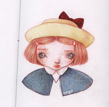 Madeline Sketch by piigss