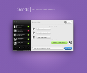 App concept by OtherPlanet