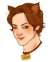 cat!Charles by hibiesque