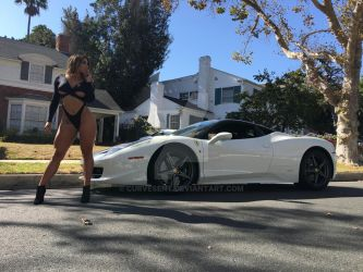 Theresa Erika likes fast cars by CurvesENT