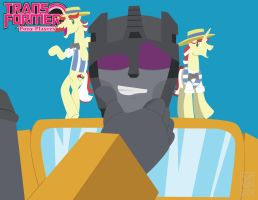Transformers Pony Players - Swindle, Flim and Flam by Inspectornills