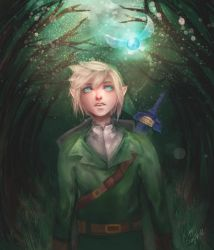 -The lost woods- by KITTYSOPHIE