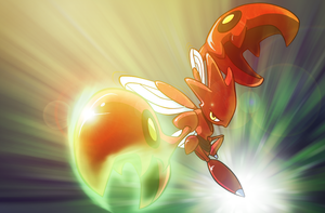 Scizor strikes back by J4RV