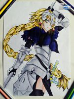 Jeanne D'Arc (RULER) Drawing  #114 by TheSaikoOF
