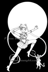 Sailor-Moon-01-Inked-web by SamhainNightManga