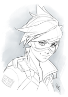 Tracer sketch by WarrenLouw