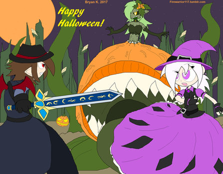 Curse of the Harvest -HALLOWEEN 2017- by Firewarrior117
