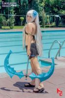 Ashe- Pool Party by Dk-Nightmare