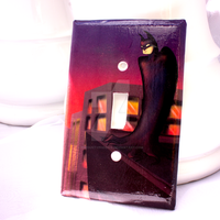 Batman Light Switch Cover by thedustyphoenix