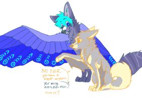 akira your wings arent even real by 00Z0MBIE