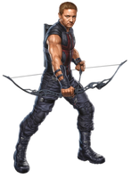 Hawkeye PNG by CaptainJackHarkness
