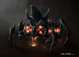 Hell Spitter Concept by RyoTazi