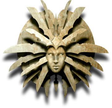 Lady of Pain Planescape logo remake by mathulessjoking