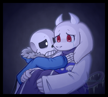 Comfort - Soriel Week Day 3 by MissHoloska