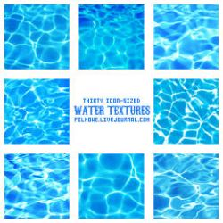 Water surface textures no. 1 by filmowe