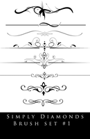 Simply Diamonds | Photoshop Brush Set #1 by SimplyDiamonds