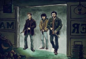 SPN Its the End of the World As We Know It 02 by annARTism