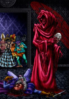 The Masque Of the Red Death by Loneanimator