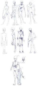 Enderman Concepts by ghostfire