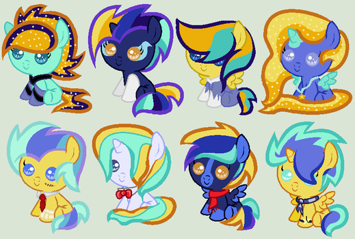 Luna And Lightning Dust adopts ---OPEN--- by fastnfuriousponies