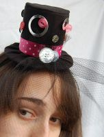 Tiny Top Hat: Pink Bubble Gum by TinyTopHats
