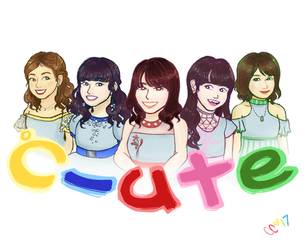 Thank you, C-ute by coobcakes