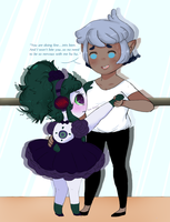 Crackship: Daniel x Mippy (Kid) by Ask-MusicPrincess3rd