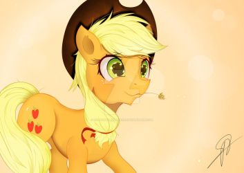applejack hwcon print 2 by Coltsteelstallion