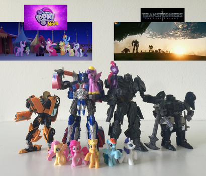 Transformers and Ponies Unite! by KaijuATTACK877