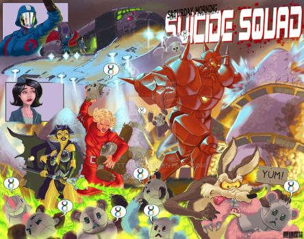 A Different Suicide Squad... by mattPLOG