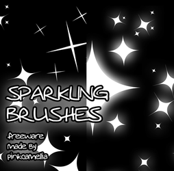 Sparkles brushes by pinkcamellia