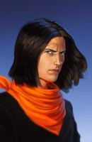 Android 17 speed paint by SchneeKatze09
