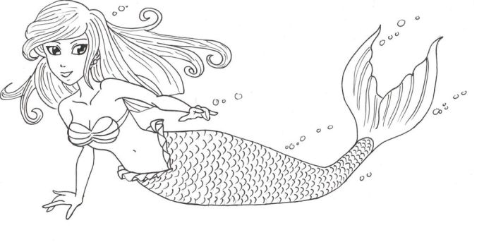 Mermaid by AriellValkyria