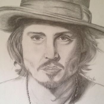 Portrait of Johnny Depp by atheas