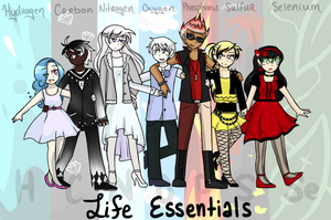 The Atomix - Life Essentials by Starrkeeper